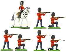 Britains Deetail & Britains Metal Scots Guards - Painted Toy Soldiers set 000801