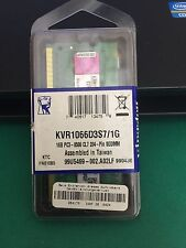 KINGSTON 1GB PC3-8500 1066MHZ SODIMM NUOVA