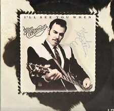 Slim Whitman, I'll See You When, Autographed On Front (L4) LP Record, L-34906
