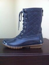 MADDEN GIRL RAIN BOOTS FROLIC QUILTED UPPER SIZE 8 SUPER CUTE!!