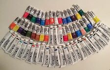 LOT OF 60 Golden Artist Colors Acrylic Paint & WINSOR & NEWTON *FREE SHIPPING!