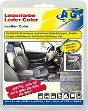 Lederfarbe Echt Leder Kunstleder Sitze Verkleidungen auffrischen färben GRAU