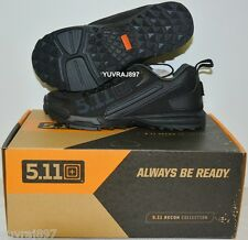 5.11 Tactical 16001019 Men's Black Recon Trainer Shoes - Size: US 4 Regular