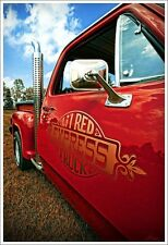 1978 Lil Red Express Truck 13x19 Art 360 Poster Li'l Pickup V8 Little Warlock