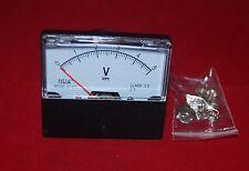 DC 5V Analog Voltmeter Panel Voltage Meter 0-5V  60*70mm directly Connect