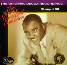 ! CD THE JIMMIE LUNCEFORD ORCHESTRA - stomp it off, DECCA