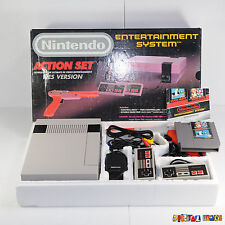 NES Console Bundle Action Set BOXED VGC NEW 72 PIN - Entertainment System - PAL