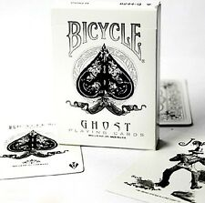 V007-1 New Rare Ellusionist Bicycle Ghost Playing Cards Magician Accessories