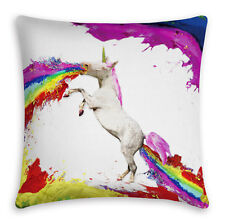 Unicorn 3D Animal Tiger Lion Pillow Case Cushion Cover Throw Sofa 5