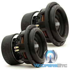 "(2) SUNDOWN AUDIO X-10 V.2 D2 REVISION 2 PRO 10"" DUAL 2-OHM 3000W RMS SUBWOOFERS"