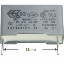 5 St entstörkondensator Av mkp x2 0,010µf 10nf 275/300vac rm15 conforme RoHS