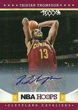 2012-13 NBA HOOPS #226 TRISTAN THOMPSON AUTO CAVALIERS FREE SHIPPING