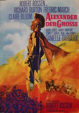 """ALEXANDRE LE GRAND (ALEXANDER THE GREAT)"" Affiche ressortie (Richard BURTON)"