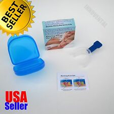 Pure Quiet Z' Sleep Stop Snoring Mouthpiece Solution Anti Snore Guard Apnea AID