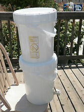 Gravity Feed Water Filter System Complete with 2 - Ceramic Filters and 2 Buckets