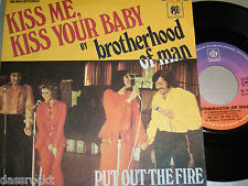 "7"" Brotherhood of Man / Kiss me Kiss your Baby - France MINT # 2882"