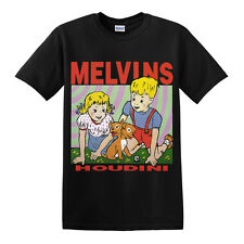 Melvins Houdini T-Shirt Sludge Metal - Stoner Rock - Sludge Metal Black
