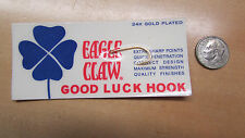 Wright & McGill Eagle Claw Good Luck Hook - 24K Gold Plated    (L 2)