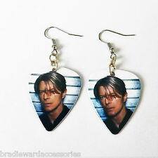DAVID BOWIE guitar pick plectrum GLAM ROCK  experimental music EARRINGS
