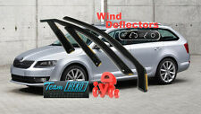 SKODA OCTAVIA III 5D 2013- estate  Wind deflectors 4pcs.HEKO (28340)