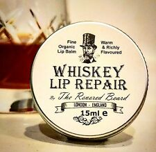 Whiskey flavour Lip Balm, Men's Lip Repair by Revered Beard. Secret Santa Gift!