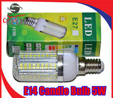 New Design E14 Mini LED Candle Bulb Ceiling Table Lamps Spot Lights Cooker 5w