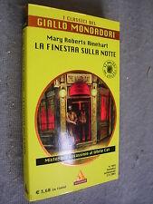 GIALLO CLASSICO # 1055 - MARY ROBERTS RINEHART - LA FINESTRA SULLA NOTTE - BUONO