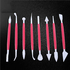 8pcs Cake Decorating Supplies Sculpture Carve Pen Bake Baking Craft Tools Set ZY