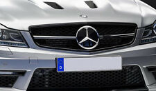Mercedes C63 AMG Edition 507 grille Grill gloss black FOR C-Class W204