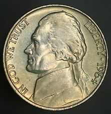 1964-P Jefferson Nickel Nicely Toned Nickle A Beautiful Example UNC! GC295