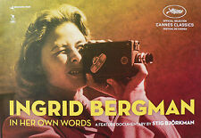 JE SUIS INGRID (INGRID BERGMAN IN HER OWN WORDS) DOSSIER PRESSE FRANCAIS/ANGLAIS