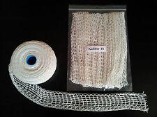 2m Kaliber 18 Bratennetz, Rollbratennetz, Schinkennetz, Rouladennetz Räuchernetz