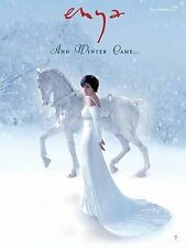 Enya: And Winter Came... Song Book  (Piano,Vocal and Guitar) NEW