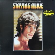 "Vinyle 33T Various (Bee Gees, Frank Stallone, ...)   ""Staying alive"""