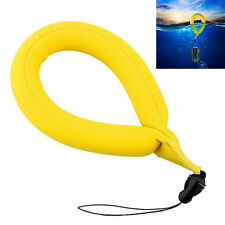 Yellow Waterproof Foam Floating Diving Wrist Strap For Camera GoPro Hot Sale