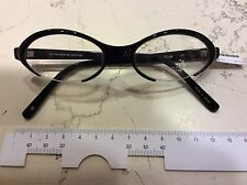 Montatura Oliver Peoples Pulse 49-18 celluloide nero vintage Anni 90' made Japan