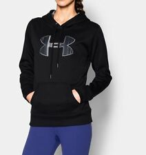Under Armour Fleece Printed Big Logo Hoodie Women's Size Small