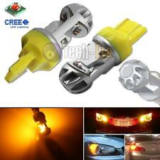 2x High Power Amber 20W CREE LED 7443 7440 LED Bulbs For Turn Signal, Backup DRL
