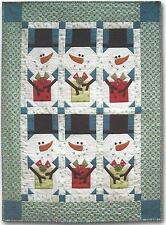 Snowman Gift Swap Quilt pattern by Barbie Jo Paquin of Cleo and Me