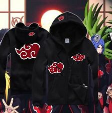 NEW Anime Naruto Akatsuki Itachi Clothing Sweatshirt Hoodie Casual Unisex Coat