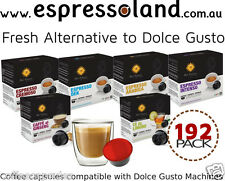 192 coffee capsules for Dolce Gusto Machines by Best Espresso - Espressoland