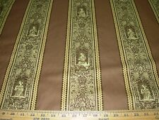 "~15 YDS~BRUNSCHWIG&FILS~""GOTHIC LADIES""~MEDIEVAL UPHOLSTERY FABRIC FOR LESS~"