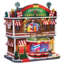Lemax  CHRISTMAS VILLAGE/HOUSE - CHRISTMAS CANDY WORKS w/SIGHTS & SOUNDS