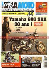 La Vie de la Moto 852 YAMAHA SRX 600 PIAGGIO CIAO BMW R12 Motos diesel à Cunlhat