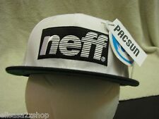 Men's Neff head wear hat cap off white surf skate NEW RARE one size fits most