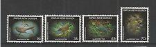 """PAPUA & NEW GUINEA 1986 AMERIPEX """"86"""" SMALL BIRDS SG,525-528 UM/M NH LOT 2954A"""