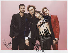 The 1975 (Band) Matthew Healy SIGNED Photo 1st Generation PRINT + Certificate /4