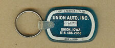 Vintage Union Ford-Mercury Auto Sales & Service, Union, Iowa IA KEYCHAIN