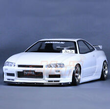 Pandora RC Cars NISSAN SKYLINE R34 GT-R V-spec2 Drift 195mm Clear Body #PAB-131