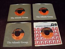 "LED ZEPPELIN - LOT OF FOUR 7"" 45 RPM SINGLES ATLANTIC ROBERT PLANT JIMMY PAGE"